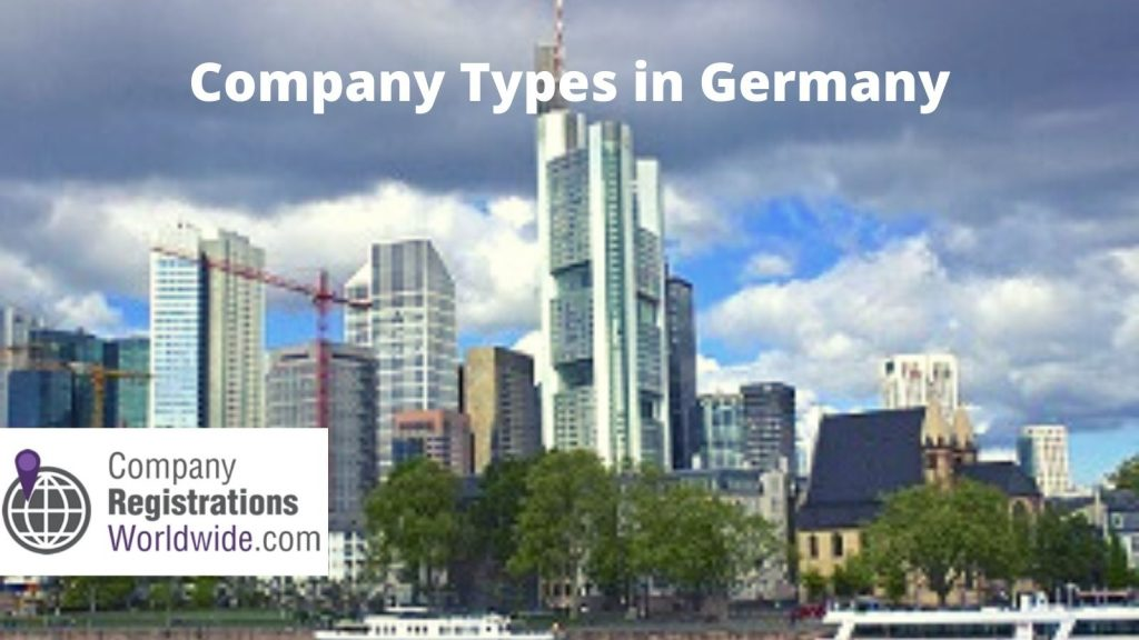 company types in Germany