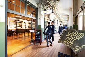 Japan's Startup Cafe in Fukuoka